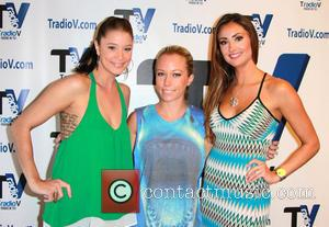 Katie Cleary, Kendra Wilkinson and Kristen Renton