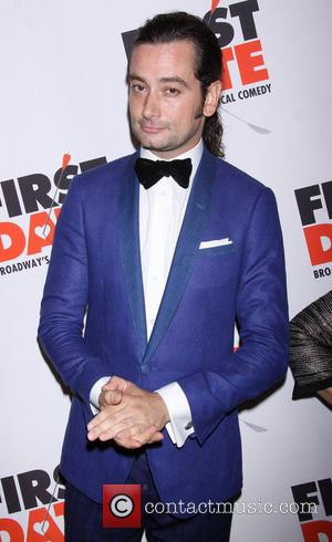 Constantine Maroulis - Broadway opening night of First Date held at the Longacre Theatre-Arrivals. - New York, NY, United States...