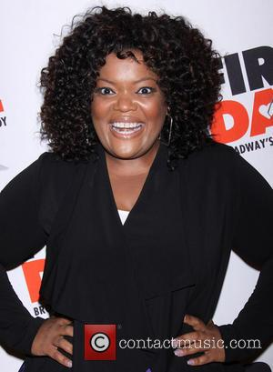 Yvette Nicole Brown - Broadway opening night of First Date held at the Longacre Theatre-Arrivals. - New York, NY, United...