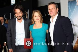 Diego Luna, Jodie Foster and Matt Damon