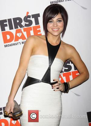 Krysta Rodriguez - Broadway opening night after party for First Date held at Gotham Hall. - New York, NY, United...