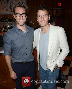 James Van Der Beek and Balthazar Getty