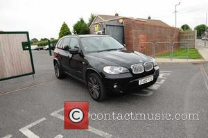 Luis Suarez - Luis Suarez is seen leaving Melwood in his car as rumours of his imminent departure are dominating...