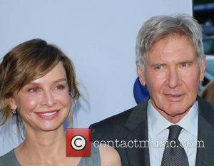 Calista Flockhart and Harrison Ford - RELATIVITY MEDIA Presents the US Premiere of PARANOIA, At The DGA Theatre - Hollywood,...