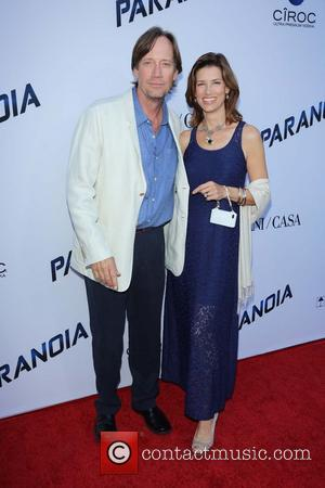 Kevin Sorbo and Sam Jenkins - RELATIVITY MEDIA Presents the US Premiere of PARANOIA, At The DGA Theatre - Hollywood,...