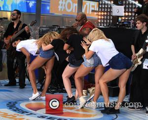 Flo Rida and Tramar Lacel Dillard - Flo Rida and Natalie La Rose perform on the 'Today' show as part...
