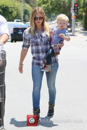 Hilary Duff and Luca Duff