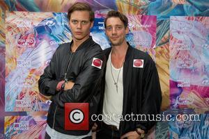 Bill Skarsgard and Adam Lundgren