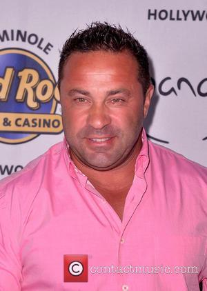 Joe Giudice - Teresa Giudice and husband Joe of 'The Real Housewives of New Jersey' appear at Pangea Nightclub at...