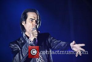 Nick Cave - Nick Cave And The Bad Seeds performing at Helsinki's Flow festival - Helsinki, Finland - Saturday 10th...