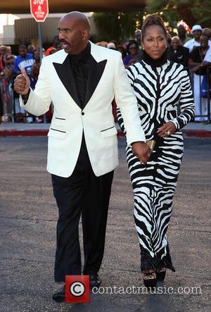 Steve Harvey and Marjorie Harvey - 2013 Ford Neighborhood Awards at MGM Grand Resort and Casino - Las Vegas, NV,...