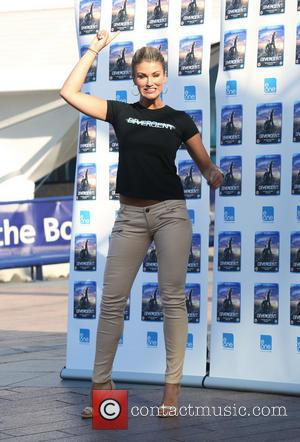 Amy Willerton - The Lovely Amy Willerton all kitted up in her jump gear Launches the action movie 'Divergent' on...