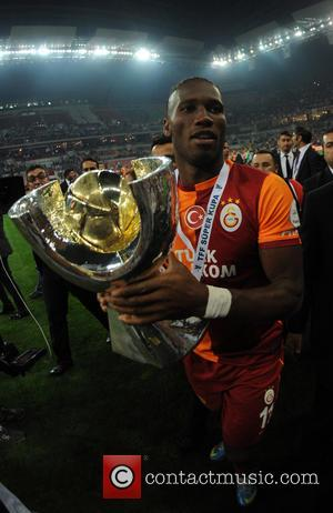 Didier Drogba - Match Result: Fenerbahce 0 Galatasaray 1 - Kayseri, Turkey - Sunday 11th August 2013