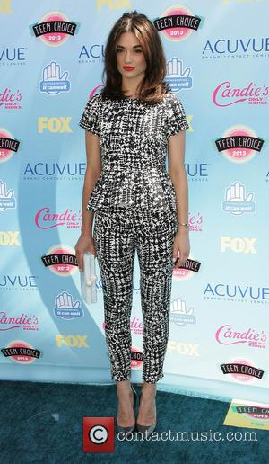 Crystal Reed - 2013 Teen Choice Awards Arrivals held at the Gibson Amphitheatre - Los Angeles, CA, United States -...