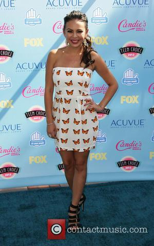 Janel Parrish - 2013 Teen Choice Awards Arrivals held at the Gibson Amphitheatre - Los Angeles, CA, United States -...