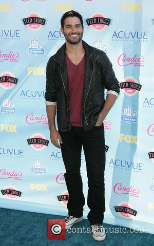 Tyler Hoechlin - 2013 Teen Choice Awards Arrivals held at the Gibson Amphitheatre - Los Angeles, CA, United States -...
