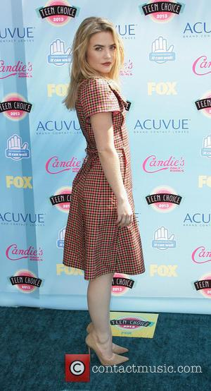 Maddie Hasson - 2013 Teen Choice Awards Press Room held at the Gibson Amphitheatre - Los Angeles, CA, United States...