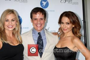 Jessica Collins, Christian LeBlanc and Lisa LoCicero - Angel Awards 2013 presented by Project Angel Food - Los Angeles, CA,...