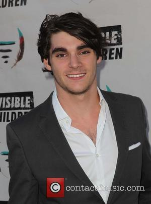 RJ Mitte - INVISIBLE CHILDREN THE FOURTH ESTATE SUMMIT at Royce Hall at UCLA - Los Angeles, California, United States...