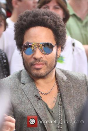 Lenny Kravitz - Josh Grad  at Good Morning America to talk about his new movie Jobs in New York...