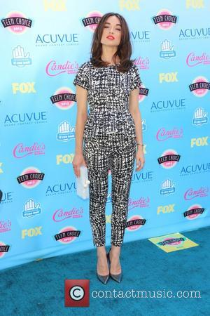 Crystal Reed - At the Gibson Amphitheater, Universal city - Universal City, California, United States - Sunday 11th August 2013