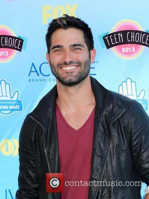 Tyler Hoechlin - At the Gibson Amphitheater, Universal city - Universal City, California, United States - Sunday 11th August 2013