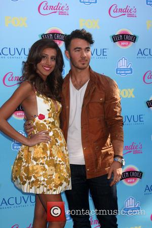 Kevin Jonas and Danielle Jonas - Teen Choice Awards 2013 Arrivals - Los Angeles, CA, United States - Sunday 11th...