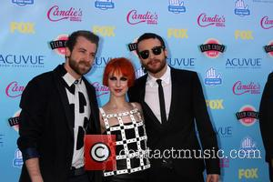 Paramore, Jeremy Davis, Hayley Williams and Taylor York - Teen Choice Awards 2013 Arrivals - Los Angeles, CA, United States...