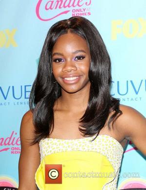 Gabby Douglas - At the Gibson Amphitheater, Universal city - Universal City, California, United States - Sunday 11th August 2013