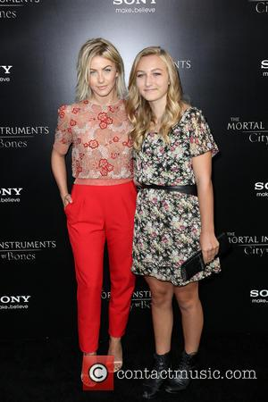 Julianne Hough and Guest