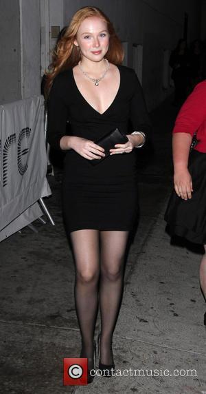 Molly C Quinn - 'The Mortal Instruments: City Of Bones' LA premiere at ArcLight Cinemas Cinerama Dome - Outside -...