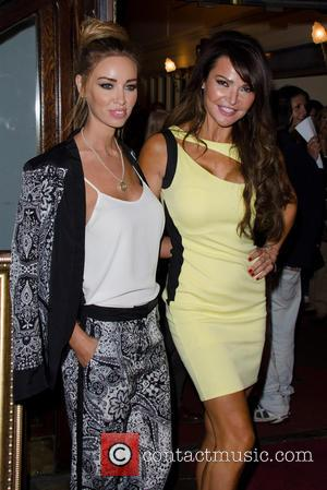 Lauren Pope and Lizzie Cundy