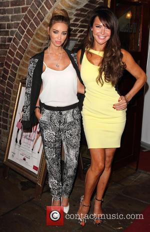 Lizzie Cundy and Lauren Pope