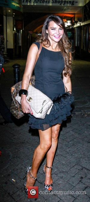 Lizzie Cundy - Celebrities attend the VIP night for 'WAG! The Musical' at the Charing Cross Theatre - London, United...