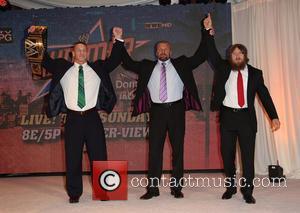 "John Cena, Paul ""triple H"" Levesque and Daniel Bryan"