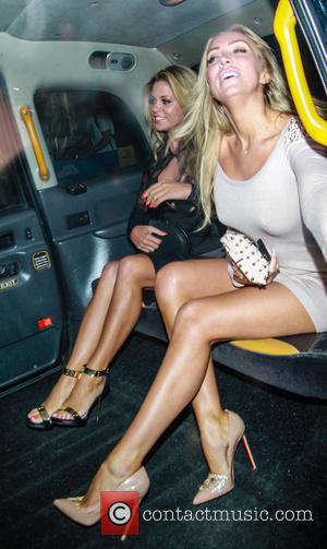 Bianca Gascoigne and Aisleyne Horgan-Wallace - You're Next - VIP film screening at Soho Hotel - London, United Kingdom -...