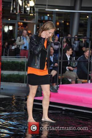 Alina Levshin - German premiere of the movie Feuchtgebiete at CineStar movie theatre at Sony Center on Potsdamer Platz square....