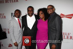 David Oyelowo, Lee Daniels, Oprah Winfrey and Forest Whitaker