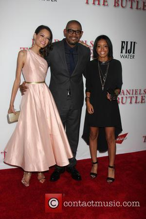 Keisha Whitaker, Forest Whitaker and Autumn Whitaker - Lee Daniels' The Butler LA Premiere - Los Angeles, CA, United States...