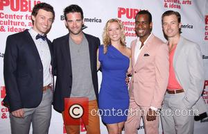 Bryce Pinkham, Colin Donnell, Patti Murin, Daniel Breaker and Lucas Near-verbrugghe