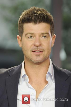 robin thicke - Robin Thicke on The Morning Show