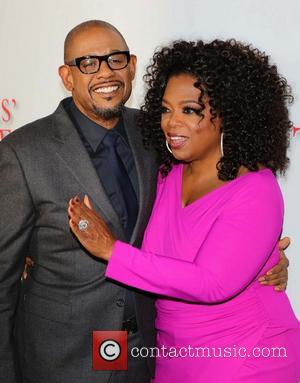 Forest Whitaker and Oprah Winfrey - Premiere Of The Weinstein Company's