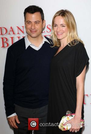 Jimmy Kimmel and Molly McNearney - Premiere Of The Weinstein Company's