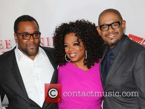 Lee Daniels, Oprah Winfrey and Forest Whitaker - Premiere Of The Weinstein Company's