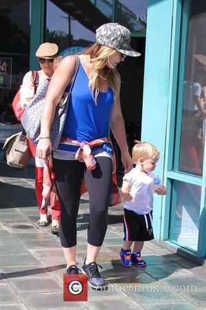 Hilary Duff and Lucas Comrie