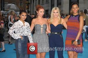 The Saturdays - European Premiere of 'We're the Millers' held at Odeon West End - Arrivals - London, United Kingdom...