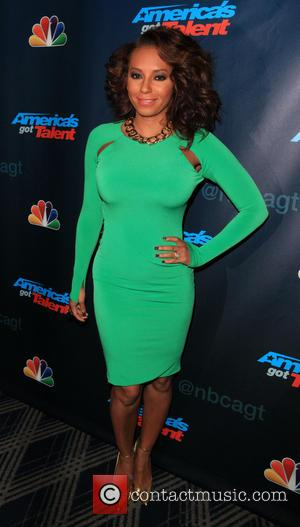 Mel B - 'America's Got Talent' post show at Radio City Music Hall - Red Carpet - New York City,...