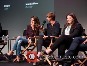 Keri Russell, Jerusha Hess and Stephenie Meyer
