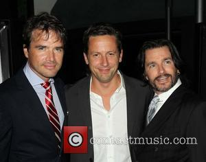 Matthew Settle, Ross Mccall and Frank John Hughes