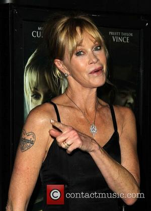 Melanie Griffith Begins Procedure To Remove Antonio Banderas Tattoo